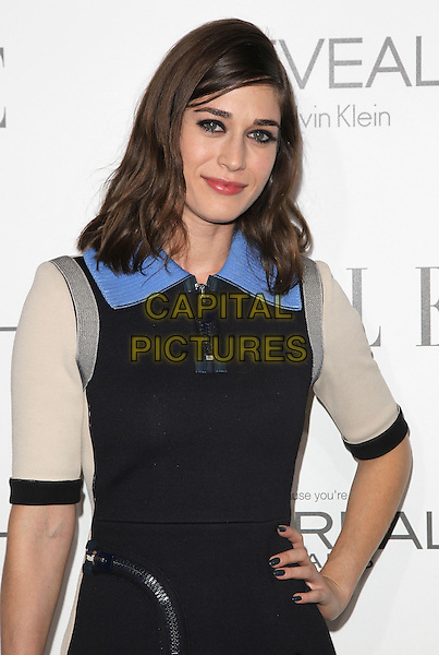 20 October  2014 - Beverly Hills, California - Lizzy Caplan. 2014 ELLE Women In Hollywood Awards held at the Four Seasons Hotel.  <br /> CAP/ADM/FS<br /> &copy;Faye Sadou/AdMedia/Capital Pictures