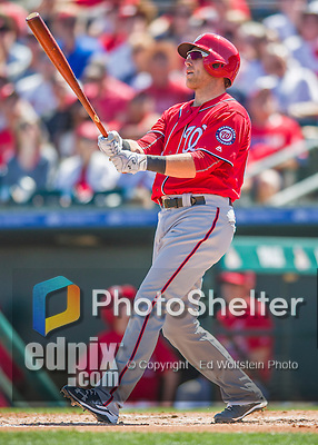 6 March 2016: Washington Nationals catcher Spencer Kieboom in action during a Spring Training pre-season game against the St. Louis Cardinals at Roger Dean Stadium in Jupiter, Florida. The Nationals defeated the Cardinals 5-2 in Grapefruit League play. Mandatory Credit: Ed Wolfstein Photo *** RAW (NEF) Image File Available ***