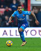 Theo Walcott of Arsenal during AFC Bournemouth vs Arsenal, Premier League Football at the Vitality Stadium on 14th January 2018