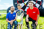 Killian and Thomas Brosnan and Dylan Hennebery enjoying the fun day at John Mitchels for Inspired on Sunday