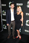 Kyle Dean Massey and Kristen Gorski-Wergeles  attending the 10th Anniversary Celebration Party for 'Wicked'  at the Edison Ballroom on October 30, 2013  in New York City.