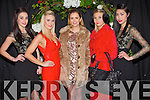 Modelling at the Castleisland Fashion Show, held in the River Island hotel on Thursday evening were l-r: Aisling O'Connell, Dawn O'Sullivan, Aisling O'Sullivan, Suzanne Nolan and Danni Xu.