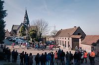 breakaway group<br /> <br /> Omloop Het Nieuwsblad 2018<br /> Gent &rsaquo; Meerbeke: 196km (BELGIUM)