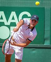 The Hague, Netherlands, 17 July, 2017, Tennis,  The Hague Open, Roy de Valk (NED)<br /> Photo: Henk Koster/tennisimages.com