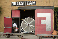 DURHAM, N.C. Tuesday August 5, 2014 - A man returns a keg at Fullsteam Brewery in Durham, N.C. (Justin Cook for The New York Times)