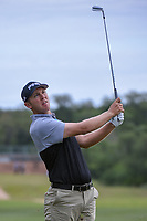 Seamus Power (IRL) watches his approach shot on 1 during Round 2 of the Valero Texas Open, AT&T Oaks Course, TPC San Antonio, San Antonio, Texas, USA. 4/20/2018.<br /> Picture: Golffile | Ken Murray<br /> <br /> <br /> All photo usage must carry mandatory copyright credit (© Golffile | Ken Murray)
