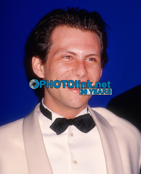 Christian Slater 1992<br /> Photo By Michael Ferguson/PHOTOlink.net