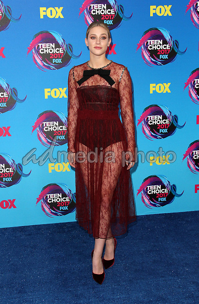 13 August 2017 - Los Angeles, California - Lili Reinhart. Teen Choice Awards 2017 Arrivals held at The Galen Center in Los Angeles. Photo Credit: AdMedia