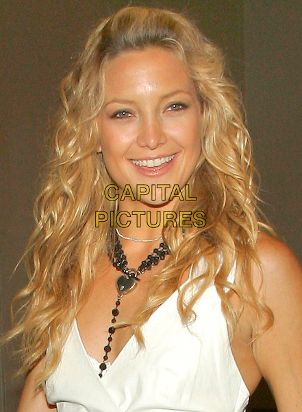 KATE HUDSON.Kate Hudson exits MTV TRL studio in Times Square, New York, NY, USA..July 12th, 2006.Photo: Jackson Lee/AdMedia/Capital Pictures.Ref: JL/ADM.headshot portrait black beaded necklace.www.capitalpictures.com.sales@capitalpictures.com.© Capital Pictures.