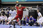 Cedric Sorhaindo vs Mladen Rakcevic. Montenegro vs France: 20-32 - Preliminary Round - Group A
