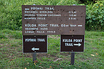 Kipahulu National Park Sign