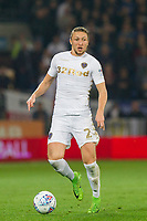 Luke Ayling of Leeds United during the Sky Bet Championship match between Cardiff City and Leeds United at the Cardiff City Stadium, Cardiff, Wales on 26 September 2017. Photo by Mark  Hawkins / PRiME Media Images.