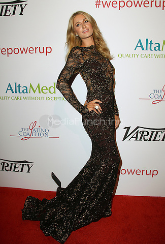 BEVERLY HILLS, CA - MAY 12: Paris Hilton attends the AltaMed Power Up, We Are The Future Gala at the Beverly Wilshire Four Seasons Hotel on May 12, 2016 in Beverly Hills, California. Credit: Parisa/MediaPunch.