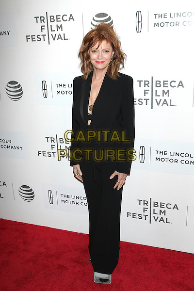 NEW YORK, NEW YORK - APRIL 19: Susan Sarandon at the US Premiere of The Meddler during the 2016 Tribeca Film Festival at BMCC on April 19, 2016 in New York City. <br /> CAP/MPI99<br /> &copy;MPI99/Capital Pictures