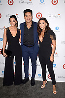 LOS ANGELES - OCT 12:  Courtney Mazza, Mario Lopez, Eva Longoria at the Eva Longoria Foundation Annual Dinner at the Four Seasons Hotel on October 12, 2017 in Beverly Hills, CA
