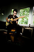 May 29, 2008. Hillsborough, NC.. Musician Scott McCall, who plays lead guitar for Tift Merritt, at his home in Hillsborough.