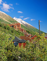 Historical Kennecott Mine, Wrangell-St. Elias National Park and Preserve, Alaska.