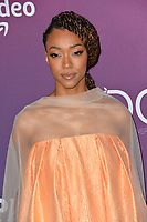 LOS ANGELES, CA. February 19, 2019: Sonequa Martin-Green at the 2019 Costume Designers Guild Awards at the Beverly Hilton Hotel.<br /> Picture: Paul Smith/Featureflash
