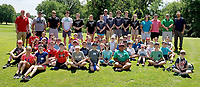 Photo submitted<br /> A total of 45 campers attended Junior Golf Camp at Siloam Springs Country Club on June 4-7. The camp was hosted in conjunction with the Siloam Springs Country Club, the First Tee of Northwest Arkansas and the Siloam Springs High School golf program.