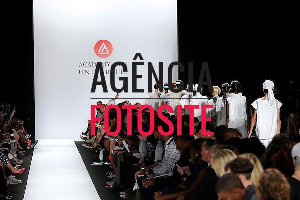 Nova Iorque, EUA &sbquo;09/2014 - Desfile de Academy of Art University durante a Semana de moda de Nova Iorque  -  Verao 2015. <br /> <br /> Foto: FOTOSITE