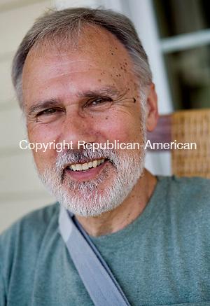 BETHLEHEM--23 April 2008--042308TJ13 - Leo Bulvanoski, at his home in Bethlehem on Wednesday, April 23, 2008, is a Selectman for the town of Bethlehem. (T.J. Kirkpatrick/Republican-American)