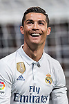 Cristiano Ronaldo of Real Madrid celebrates during their La Liga match between Real Madrid and Real Betis at the Santiago Bernabeu Stadium on 12 March 2017 in Madrid, Spain. Photo by Diego Gonzalez Souto / Power Sport Images
