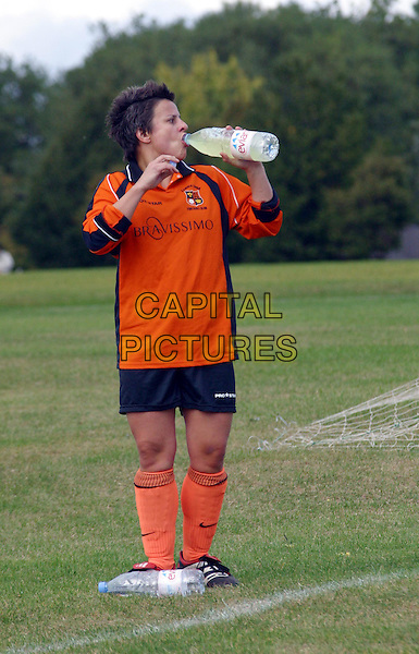 "**EXCLUSIVE PICTURES**.RHONA CAMERON.fresh from her stint on ""I'm a Celebrity..Get Me Out Of Here"" is snapped playing football for Lesbian side Camden Phoenix yesterday in Regents Park. The comedian is currently in talks with ITV to host a new progamme..www.capitalpictures.com.sales@capitalpictures.com.©Capital Pictures"