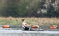 Caversham. Berkshire. UK<br /> Rebecca GIRLING.<br /> 2016 GBRowing U23 Trials at the GBRowing Training base near Reading, Berkshire.<br /> <br /> Monday  11/04/2016 <br /> <br /> [Mandatory Credit; Peter SPURRIER/Intersport-images]
