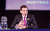 UKIP <br /> Leadership hustings <br /> at the Emanuel Centre, London, Great Britain <br /> 1st November 2016 <br /> <br /> the first leadership hustings before the election on 28th November 2016 <br /> <br /> <br /> <br /> John Rees-Evans<br /> <br /> <br /> <br /> <br /> Photograph by Elliott Franks <br /> Image licensed to Elliott Franks Photography Services