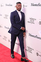 NOVA YORK, EUA, 23.04.2018 - TRIBECA-FESTIVAL - Ator Jamie Foxx durante o Festival de Cinema de Tribeca de 2018 - Tribeca Talks: Storytellers - no BMCC Tribeca PAC em Nova York nesta segunda-feira, 23. (Foto: William Volcov/Brazil Photo Press)