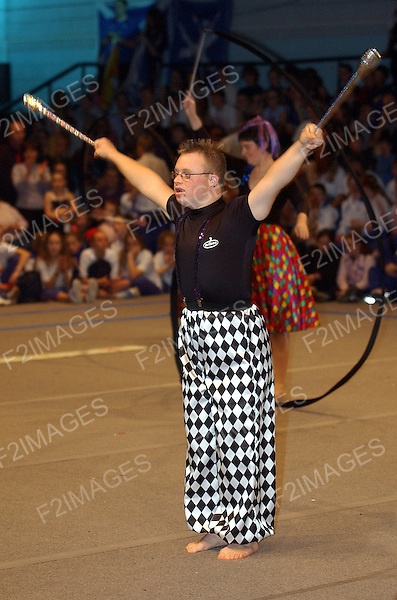 Liverpool Minnistrada 2003. General Gymnastics Festival held at Everton Park Sports Centre..Photos by Alan Edwards