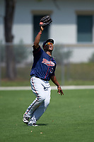 Minnesota Twins Keury De La Cruz (37) during a minor league Spring Training game against the Baltimore Orioles on March 16, 2016 at CenturyLink Sports Complex in Fort Myers, Florida.  (Mike Janes/Four Seam Images)