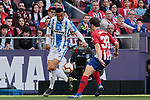 Atletico de Madrid's Andres Felipe Solano and CD Leganes's Youssef En-Nesyri during La Liga match between Atletico de Madrid and CD Leganes at Wanda Metropolitano stadium in Madrid, Spain. March 09, 2019. (ALTERPHOTOS/A. Perez Meca)