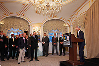 U.S. Soccer President Sunil Gulati during a reception for members of the FIFA World Cup Inspection Delegation at the St. Regis Hotel in New York, NY, on September 06, 2010.