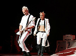 UNIVERSAL CITY, CA. - July 22: Guitarist Tom Dumont and Singer Gwen Stefani of No Doubt performs at the Gibson Amphitheatre on July 22, 2009 in Universal City, California.