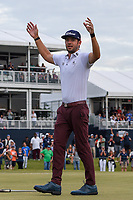 Lanto Griffin (USA) celebrates winning the 2019 Houston Open, Golf Club of Houston, Houston, Texas, USA. 10/13/2019.<br /> Picture Ken Murray / Golffile.ie<br /> <br /> All photo usage must carry mandatory copyright credit (© Golffile | Ken Murray)