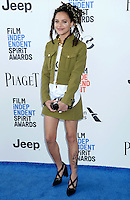 SANTA MONICA, 25.02.20-17 - SPIRIT-AWARDS -  Sasha Lane durante  Film Independent Spirit Awards em Santa Monica na California nos Estados Unidos (Foto: Gilbert Flores/Brazil Photo Press)