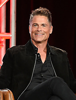2020 FOX WINTER TCA: (L-R): 9-1-1: LONE STAR cast member/Co-Executive Producer Rob Lowe during the 9-1-1: LONE STAR panel at the 2020 FOX WINTER TCA at the Langham Hotel, Tuesday, Jan. 7 in Pasadena, CA. © 2020 Fox Media LLC. CR: Frank Micelotta/FOX/PictureGroup