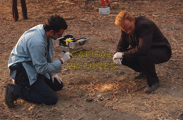 """RORY COCHRANE & DAVID CARUSO.in CSI: Miami.""""A Horrible Mind"""".*Editorial Use Only*.Ref: FB.www.capitalpictures.com.sales@capitalpictures.com.Supplied by Capital Pictures."""