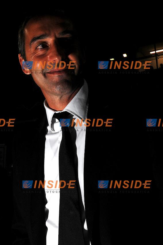 """Marco GIAMPAOLO Allenatore del Cesena.Cesena 21/9/2011 Stadio """"Dino Manuzzi"""".Football Calcio Serie A 2011/2012.Cesena Vs Lazio.Foto Insidefoto Andrea Staccioli"""