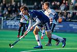 AMSTELVEEN - Jord Beekmans (Pinoke) tijdens de competitie hoofdklasse hockeywedstrijd heren, Pinoke-Amsterdam (1-1)   COPYRIGHT KOEN SUYK