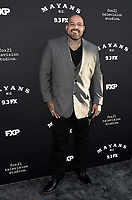 """LOS ANGELES - AUGUST 27: Vincent Rocco Vargas attends the season two red carpet premiere of FX's """"Mayans M.C"""" at the ArcLight Dome on August 27, 2019 in Los Angeles, California. (Photo by Scott Kirkland/FX/PictureGroup)"""