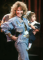 #TanyaTucker and daughter 1992<br /> Photo By Adam Scull/PHOTOlink.net