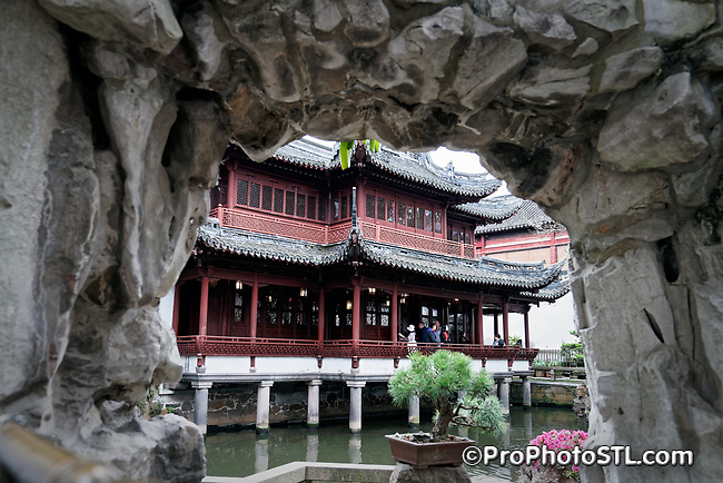 Yu Garden (Yuyuan Garden) in Shanghai, China