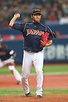 Takeru Imamura (JPN), .February 26, 2013 - WBC : .2013 World Baseball Classic, Exhibithion Game .match between Japan 0-1 Hanshin Tigers  .at Kyocera Dome, Osaka, Japan..(Photo by AJPS/AFLO SPORT)