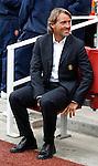 Inter Milan's manager Roberto Mancini.Pic SPORTIMAGE/Simon Bellis