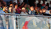 RAVENNA, ITALIA, 10 DE SETEMBRO 2011 - MUNDIAL BEACH SOCCER / BRASIL X PORTUGAL -  Ricardo Teixeira presidente da CBF é visto durante da partida entre Brasil x Portugal, válida pelas válida pela semi-final da Copa do Mundo de Beach Soccer no Estádio Del Mare, em Ravenna, Itália neste sábado (10).FOTO: VANESSA CARVALHO - NEWS FREE.