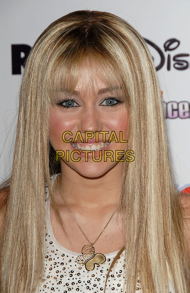 MILEY CYRUS .Attends Radio Disney Totally Ten Birthday Concert held at The Pond of Anaheim in Anaheim, Los Angeles, California, USA, July 22, 2006..portrait headshot.Ref: DVS.www.capitalpictures.com.sales@capitalpictures.com.©Debbie VanStory/Capital Pictures