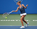 August 3,2019:  Camila Giorgi (ITA) defeated Caty McNally (USA) 7-6, 6-2, at the CitiOpen being played at Rock Creek Park Tennis Center in Washington, DC, .  ©Leslie Billman/Tennisclix/CSM