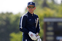Eoin Morgan of Middlesex leaves the field after warm-up prior to Middlesex vs Essex Eagles, Royal London One-Day Cup Cricket at Radlett Cricket Club on 17th May 2018